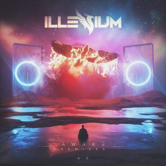 Illenium Awake Remix Art