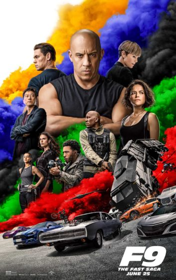 Poster for Fast & Furious 9